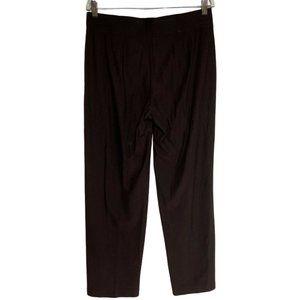 Eileen Fisher Womens Straight Leg Knit Pants Brown